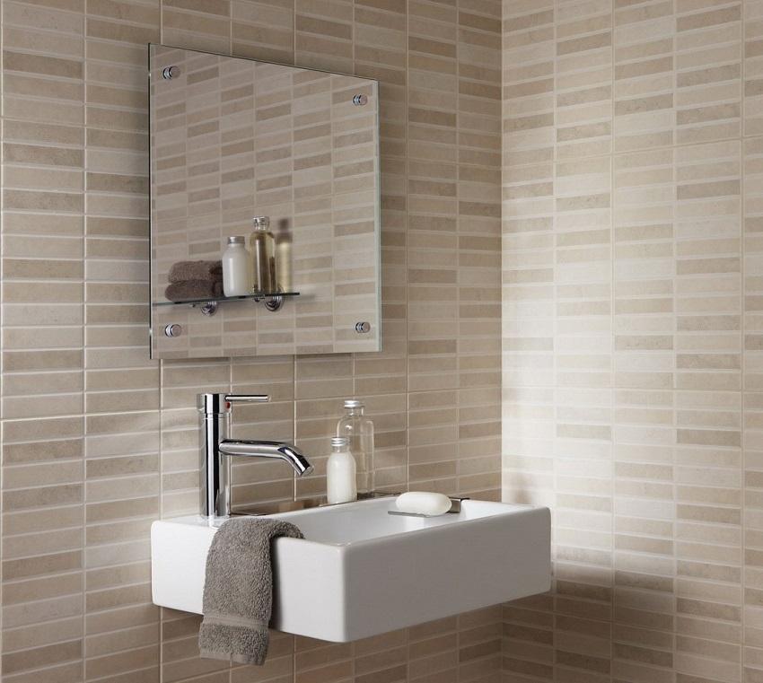 Le piastrelle per il bagno classico o moderno